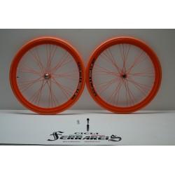 Cerchi 28 fixed 1v arancio...